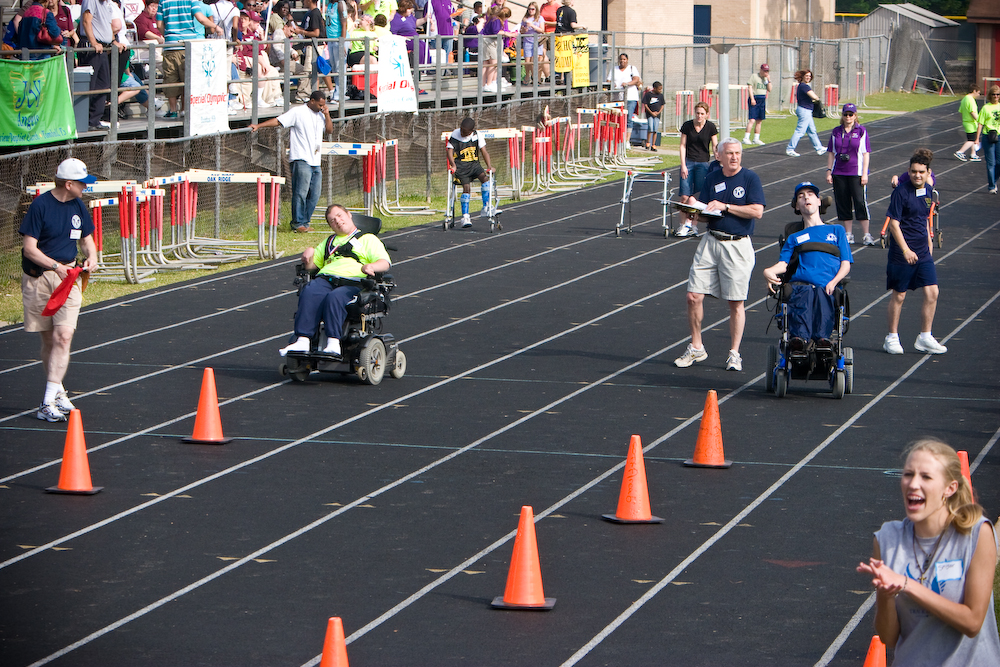 30m Wheelchair Slalom